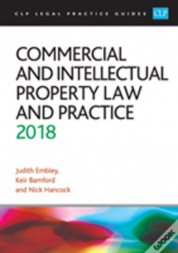 Wook.pt - Commercial And Intellectual Property Law And Practice 2018