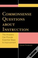 Common Sense Questions About Instruction