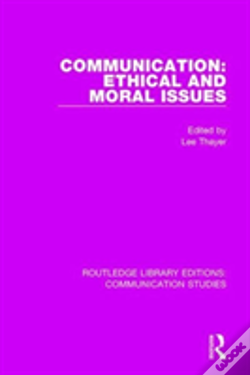 Wook.pt - Communication Ethical Moral Issues