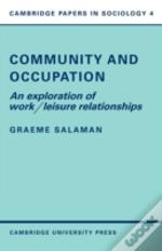 Community And Occupation