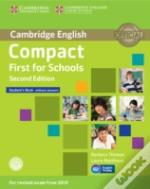 Compact First For Schools Student'S Book Without Answers With Cd-Rom