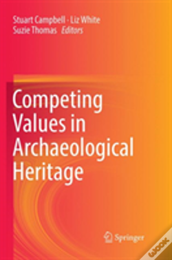 Wook.pt - Competing Values In Archaeological Heritage