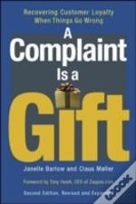 Complaint Is A Gift