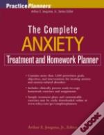 Complete Anxiety Treatment And Homework Planner