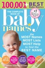 Complete Book Of Baby Names