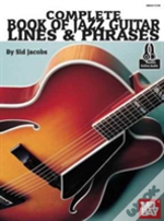 Complete Book Of Jazz Guitar Lines & Phr