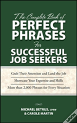 Wook.pt - Complete Book Of Perfect Phrases For Successful Job Seekers