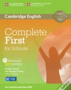 Wook.pt - Complete First For Schools Workbook With Answers With Cd Audio