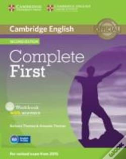 Wook.pt - Complete First Workbook With Answers With Audio Cd