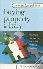 Complete Guide To Buying Property In Italy