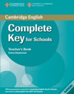 Wook.pt - Complete Key For Schools Teacher'S Book
