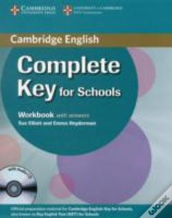 Wook.pt - Complete Key For Schools Workbook With Answers With Audio Cd