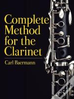 Complete Method For The Clarinet
