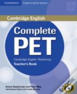 Complete Pet For Spanish Speakers Teacher'S Book