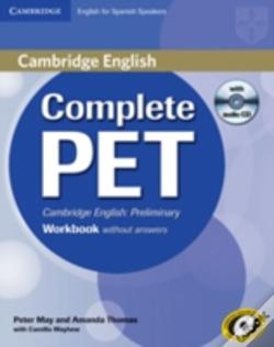 Wook.pt - Complete Pet For Spanish Speakers Workbook Without Answers With Audio Cd