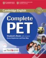 Complete Pet Student'S Book With Answers With Cd-Rom And Testbank