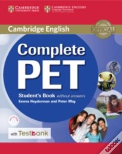 Wook.pt - Complete Pet Student'S Book Without Answers With Cd-Rom And Testbank
