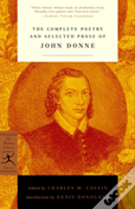 Complete Poetry And Selected Prose Of John Donne
