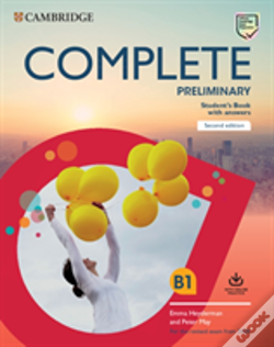 Wook.pt - Complete Preliminary Student's Book with Answers with Online Practice