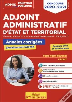 Wook.pt - Concours Adjoint Administratif - Categorie C - Annales Corrigees -Session 2019