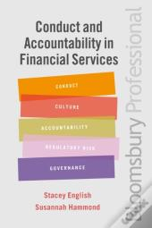 Conduct And Accountability In Financial Services