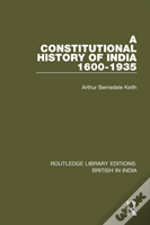Constitutional History Of India Rl