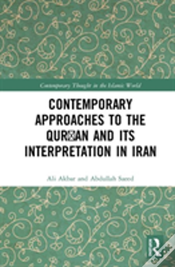 Wook.pt - Contemporary Approaches To The Qur'An And Its Interpretation In Iran