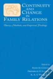 Continuity And Change In Family Relations