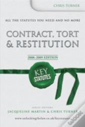 Contract, Tort And Restitution