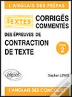Contraction De Textes 84-94 T.2