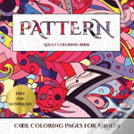 Cool Coloring Pages For Adults (Pattern)