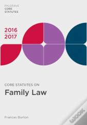 Core Statutes On Criminal Law 2016-17