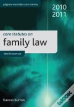 Core Statutes On Family Law 2010-11