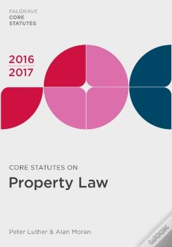 Wook.pt - Core Statutes On Property Law 2016-17