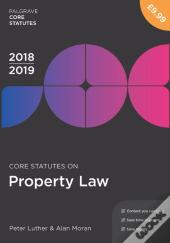 Core Statutes On Property Law 2018-19