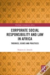 Corporate Social Responsibility And Law In Africa