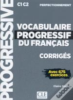 Corriges Vocabulaire Progressif Niveau Perfectionnement Nc