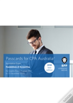 Wook.pt - Cpa Australia Foundations Of Accounting