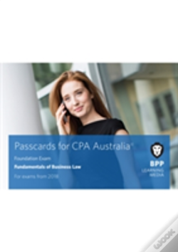 Wook.pt - Cpa Australia Fundamentals Of Business Law