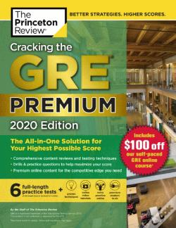 Wook.pt - Cracking the GRE Premium Edition with 6 Practice Tests
