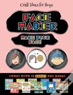 Craft Ideas For Boys (Face Maker - Cut And Paste)