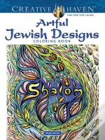 Creative Haven Artful Jewish Designs Coloring Book