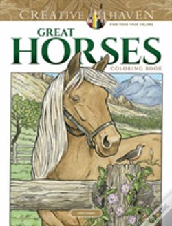 Wook.pt - Creative Haven Great Horses Coloring Book