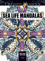 Creative Haven Sea Life Mandalas Coloring Book
