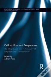 Critical Humanist Perspectives