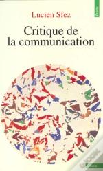 Critique De La Communication