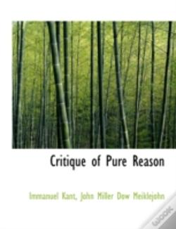 Wook.pt - Critique Of Pure Reason