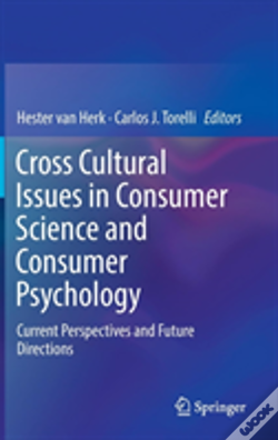 Wook.pt - Cross Cultural Issues In Consumer Science And Consumer Psychology