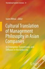 Cultural Translation Of Management Philosophy In Asian Companies