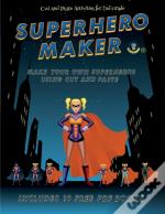 Cut And Paste Activities For 2nd Grade (Superhero Maker)